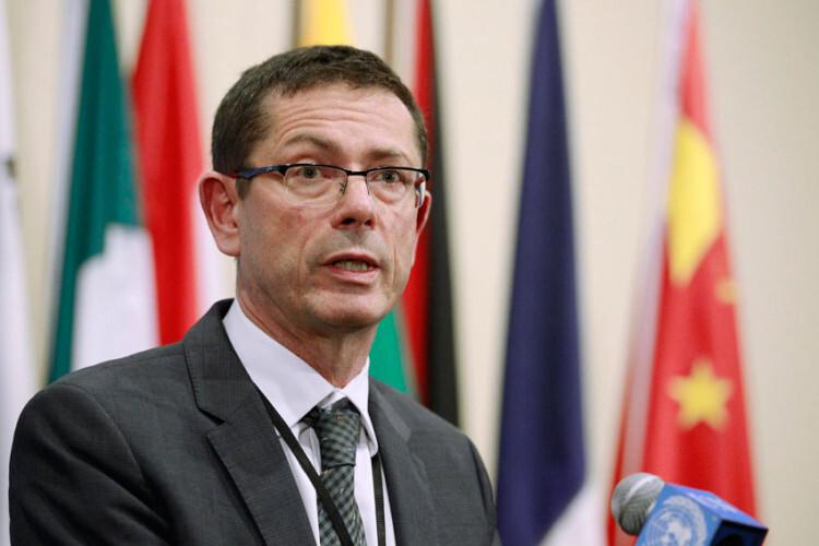 El subsecretario general de la ONU para los Derechos Humanos, Ivan Šimonovic Foto: ONU/Paulo Filgueiras