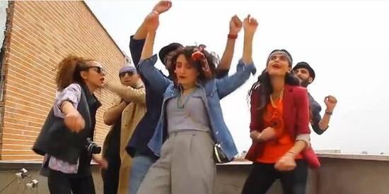Iran happy video clip. © YouTube