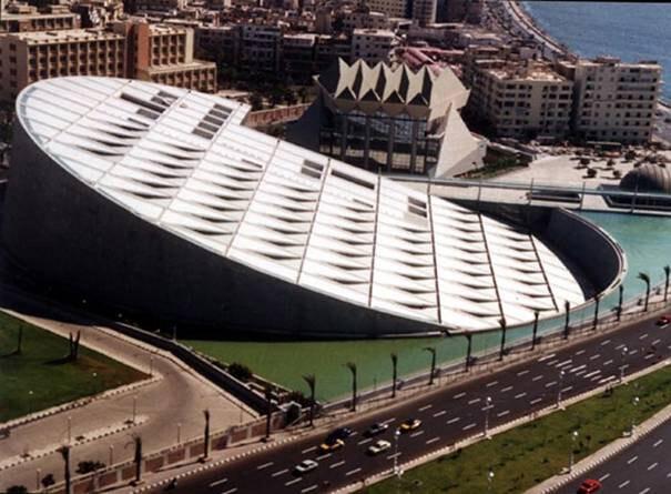 Biblioteca-de-Alejandría-(Egipto)