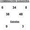 COMBINACIÓN GANADORA DEL SORTEO DE EUROMILLONES DE FECHA 19092014