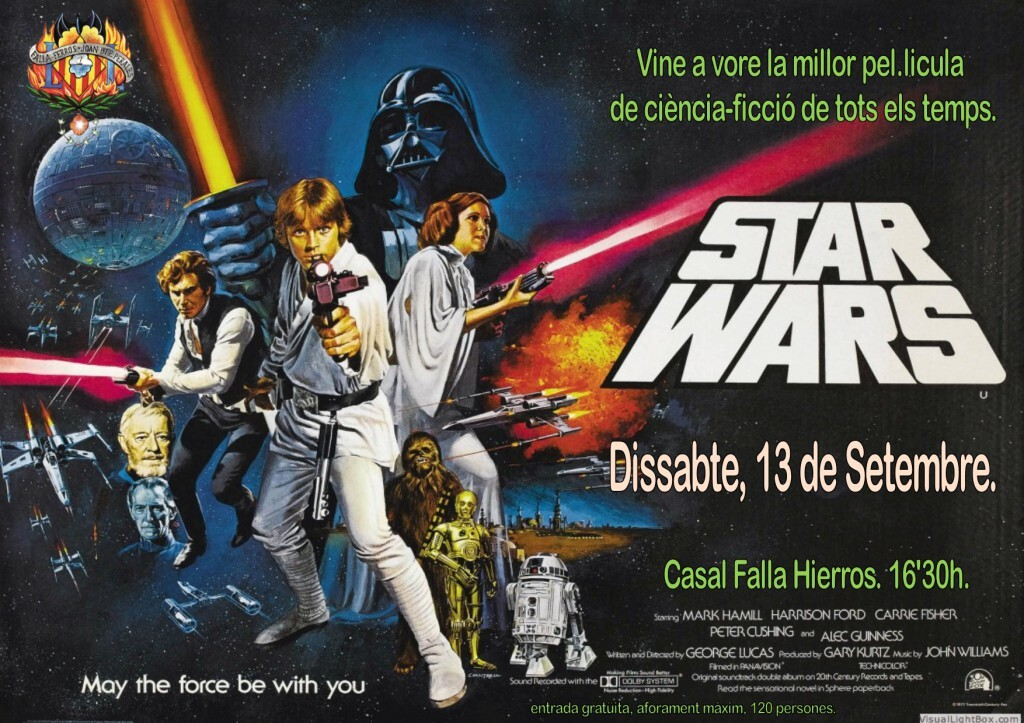 Cartel Pelicula Star Wars