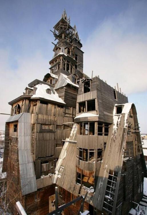 Casa-de-madera-Gagster-(Arkhangelsk,-Rusia)