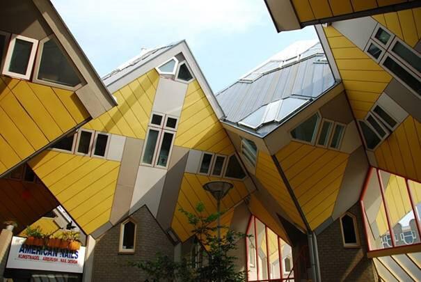 Cubic-Houses-(woningen-Kubus)-(-Rotterdam-,-Países-Bajos)