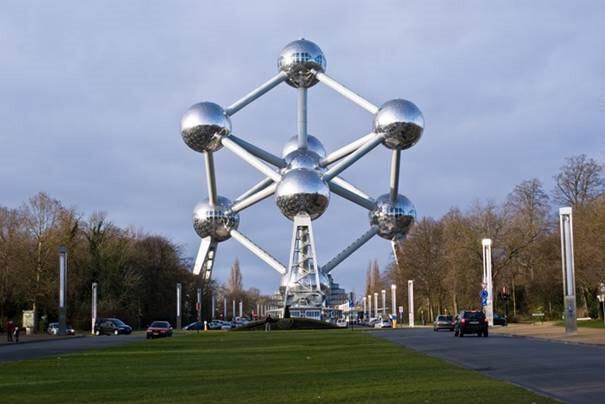 El-Atomium-(Bruselas,-Bélgica)
