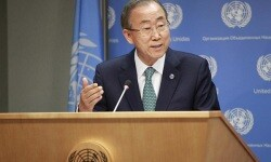 El Secretario General de la ONU, Ban Ki-moon (Foto ONUPaulo Filgueiras)