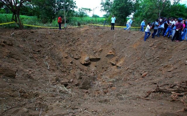 NICARAGUA PIDE APOYO A EE.UU. PARA INVESTIGAR METEORITO CAÍDO EN EL PAÍS