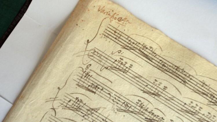 Encuentran el original perdido de una célebre sonata de Mozart