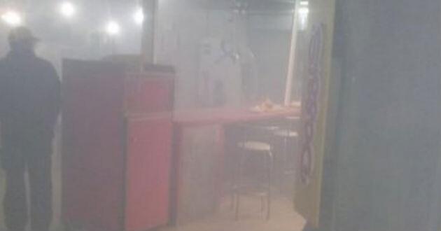 Bomba casera provocó explosión en Chile. Foto: @projas902