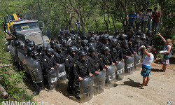 Violent Eviction of La Puya