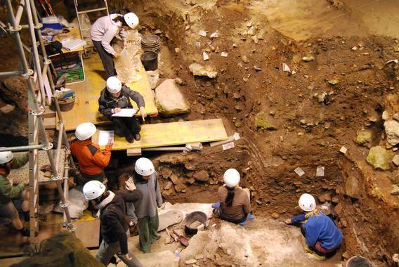 Sima de los Huesos de Atapuerca. / Sinc.