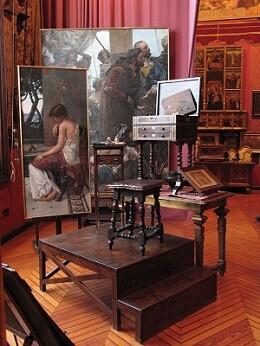 Interior de la casa Benlliure (I)