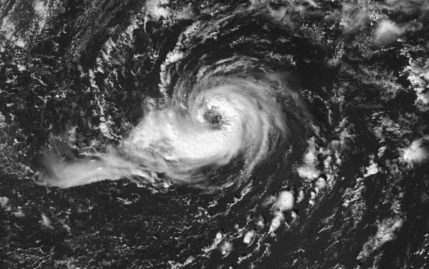 Huracán Vince, que afectó a la península ibérica en octubre de 2005. / Wikipedia