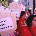Manifestacion contra la ley del aborto de Gallardon