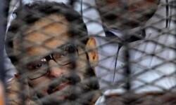 Mohamed Soltan detenido egipcio en huelga de hambre. © AFP  Getty