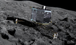 Philae on the comet