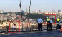 Policía se toma selfie con suicida. Foto: Hürriyet Daily News.