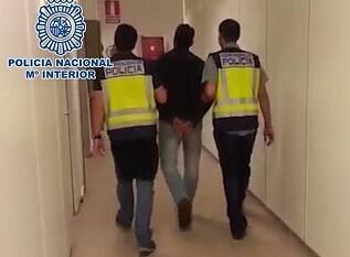 Policia detencion