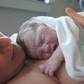 na madre con su hijo recién nacido. / Wikipedia