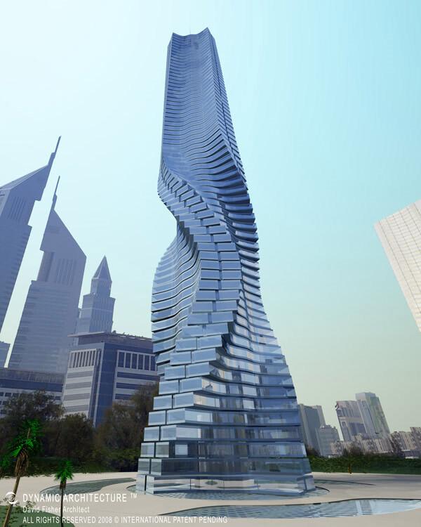 Rotating-Tower,-Dubai,-Emiratos-Árabes-Unidos