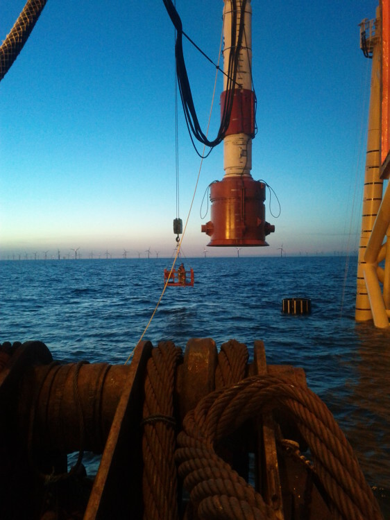 Trabajos offshore Iberdrola