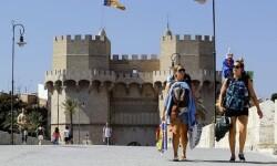Turismo en Valencia (archivo)