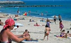 Turistas en espana