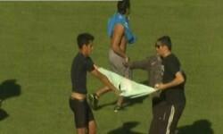 Asaltan a jugador en pleno partido en Argentina