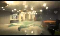 Captan la furia del huracán Odile dentro de un edificio