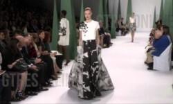Carolina Herrera en la Semana de la Moda en NY