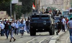 Manifestación en El Cairo contra la ley sobre manifestaciones, junio 2014. © EPA/MOHAMMED SABER