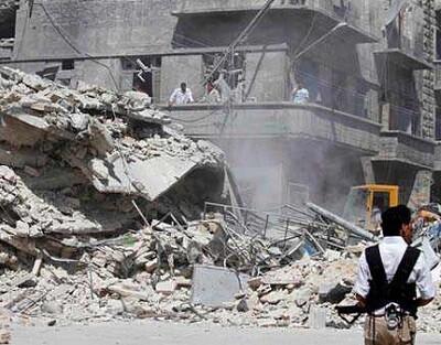 edificio destruido en siria (I)