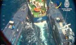 Incautada en aguas del Mediterráneo media tonelada de cocaína