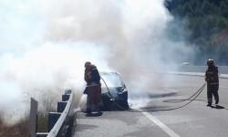 incendio vehiculo Bomberos de Valencia