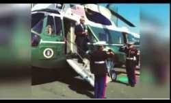 Saludo de Obama con un café en la mano crea polémica