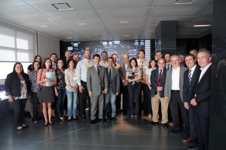 visita delegación Brasil red abastecimiento agua