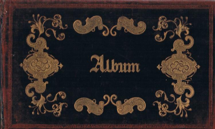 Álbum recuerdo post mortem. Amalia Batllés. 1856. A. P. R. S.