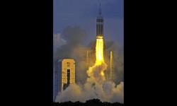 1 de 12La cápsula Orion de la NASA realizó hoy su primer vuelo de prueba no tripulado para experimentar la nave que ha sido diseñada para llevar al hombre a destinos más lejanos de lo explorado hasta ahora (2)