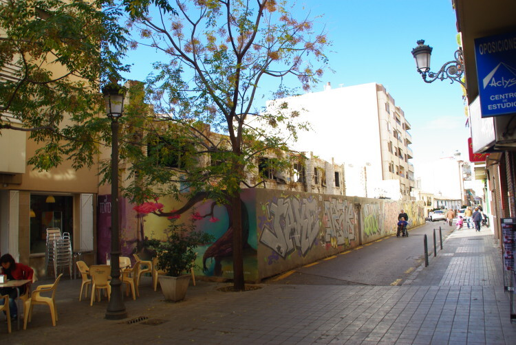 Calle Dibujante Manuel Gago, pendiente de abrir