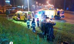 2014.12.08 Accidente de tráfico en Langreo 2