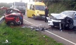 2014.12.19 Accidente de Tráfico en Soto del Barco