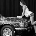 Abbey Clancy otra de las estrellas que se desnuda para el calendario