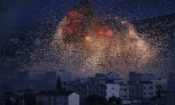 Ataque aéreo sobre Siria (Foto-Agencias)