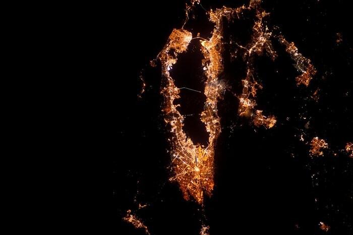 La bahía de San Francisco de noche