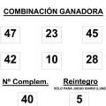 Bonoloto, resultado del sorteo de la bonoloto del 08 de diciembre
