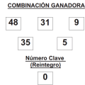 COMBINACIÓN GANADORA DEL SORTEO DEL GORDO DE LA PRIMITIVA DE FECHA 14 DE DICIEMBRE DE 2014