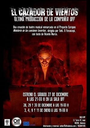 Cartel promocional del musical 'El cazador de vientos'.