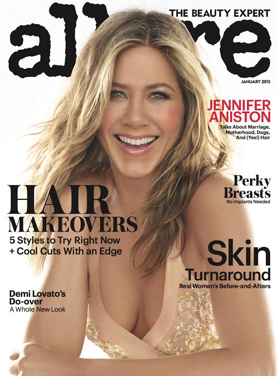 Desnudo de Jennifer Aniston para la revista Allure (1)