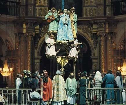 El misterio de Elche también forma parte del patrimonio inmaterial valenciano. (Foto-Archivo)
