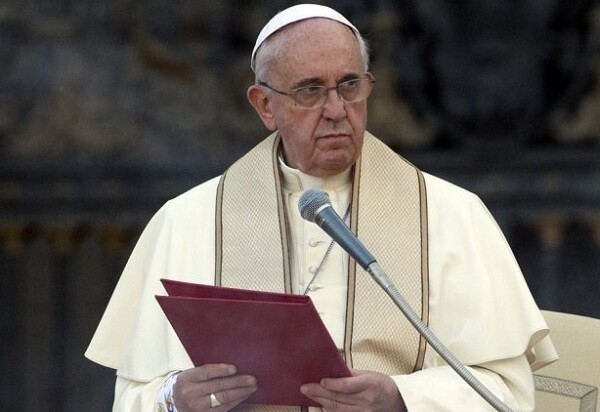 El papa Francisco en la sede del Vaticano. (Foto-AP)