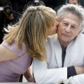 Emmanuelle Seigner y Roman Polanski. (Foto-Agencias)